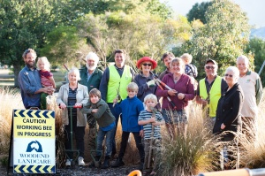 This happy crew thoroughly enjoyed January's twilight working bee - and got heaps achieved too! Thanks for coming everyone - hope to see you again in February. Photo: Sandy Scheltema.
