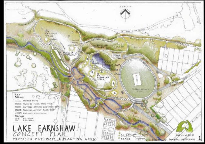earnshaw concept plan
