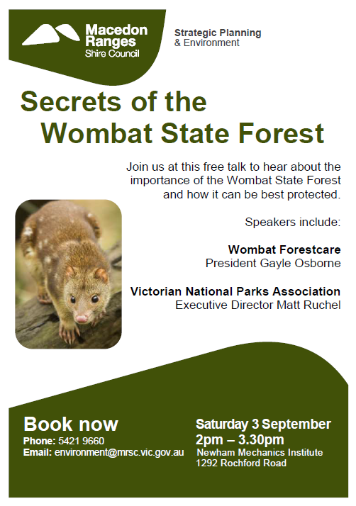 wombat forest talk
