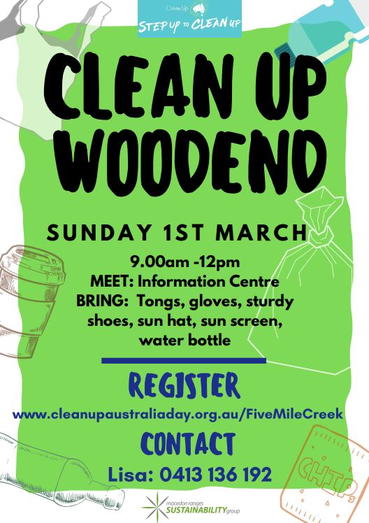 clean up woodend