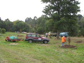 """The paddocks"" planting 2011"